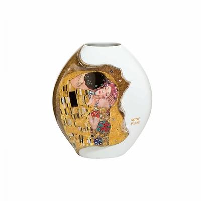 """Goebel - Gustav Klimt ,,Pocałunek"""" wazon porcelanowy"""