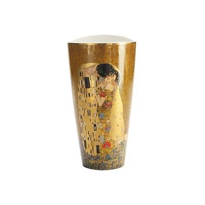 """Goebel - Gustav Klimt ,, Pocałunek"""" wazon porcelanowy"""