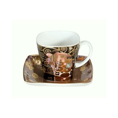"""Goebel - Gustav Klimt ,, Spełnienie"""" filiżanka do espresso"""
