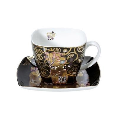 """Goebel - Gustav Klimt ,,Spełnienie"""" filiżanka do kawy"""