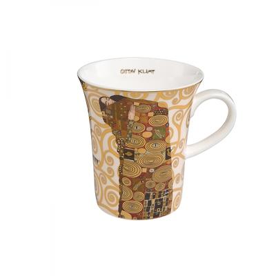 """Goebel - Gustav Klimt ,,Spełnienie"""" kubek"""