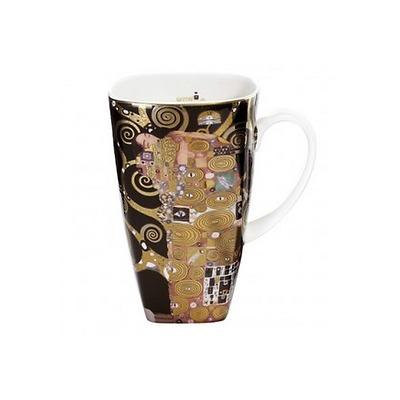 """Goebel - Gustav Klimt ,, Spełnienie"""" kubek do kawy"""