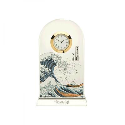 """Goebel - Hokusai Katsushika ,,Wielka Fala w Kanagawie"""" zegar kryształowy"""