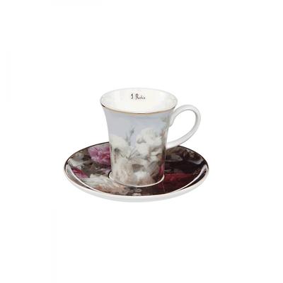 """Goebel - Jean Baptiste Robie ,,Martwa natura z kwiatami """" filiżanka do kawy"""