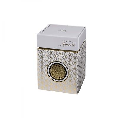 """Goebel - """"Kwiat Życia Biały""""  pudełko na herbatę"""