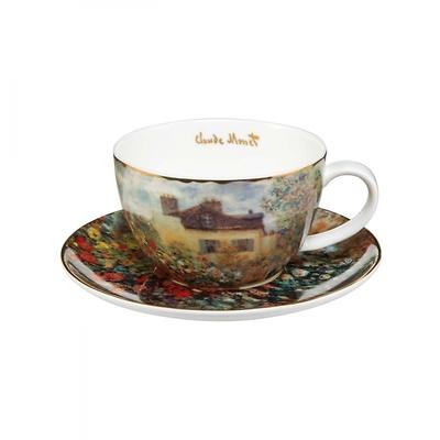 """Goebel - Oscar Cloude Monet ,,Dom Artysty"""" filiżanka"""