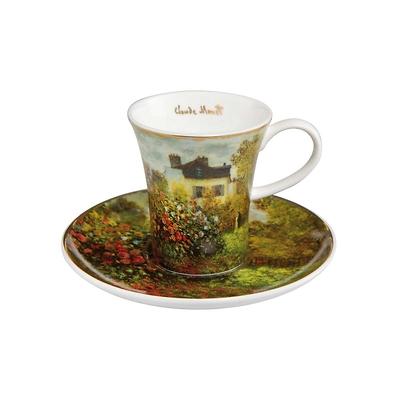 "Goebel - Oscar Cloude Monet ,,Dom Artysty"" filiżanka do espresso"