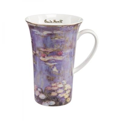 "Goebel - Oscar Cloude Monet ,,Evening Flowers II "" kubek"