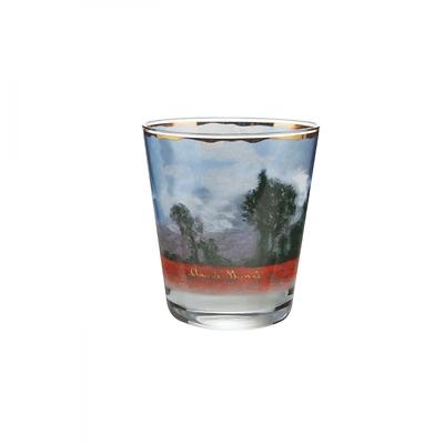 """Goebel - Oscar Cloude Monet ,""""Pole maków""""  świecznik szklany"""