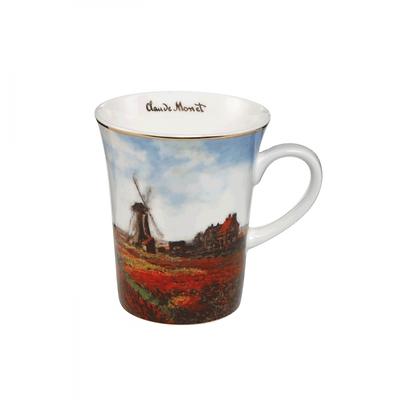 "Goebel - Oscar Cloude Monet ,,Pole Tulipanów"" kubek"