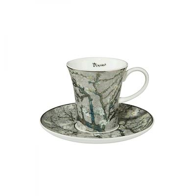 "Goebel - Vincent Willem van Gogh ,,Drzewo Migdałowe"" filiżanka do espresso"