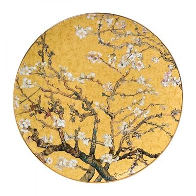 """Goebel - Vincent Willem van Gogh ,,Drzewo Migdałowe"""" talerz ścienny"""