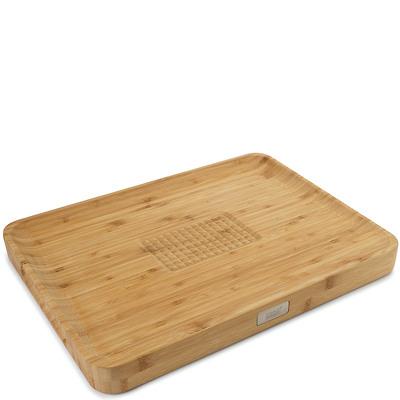 Joseph Joseph - Cut&Carve Deska do krojenia BAMBOO