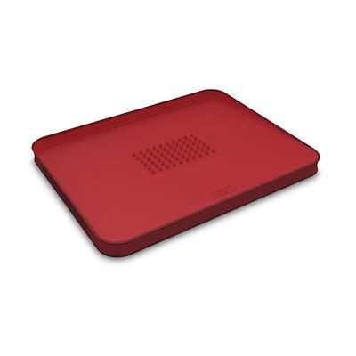 Joseph Joseph - Cut&Carve Deska do krojenia czerwona