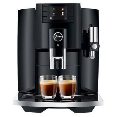 Jura - Ekspres do kawy E8 EB Piano Black+ Filiżanka do espresso GRATIS