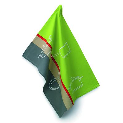 Kela - Amalie ściereczka kuchenna, zielono-szara