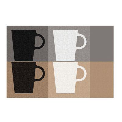 Kela - Cups podkładka na stół, szaro-beżowa