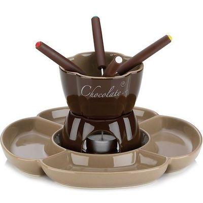 Kela - Fiore ceramiczny zestaw do fondue