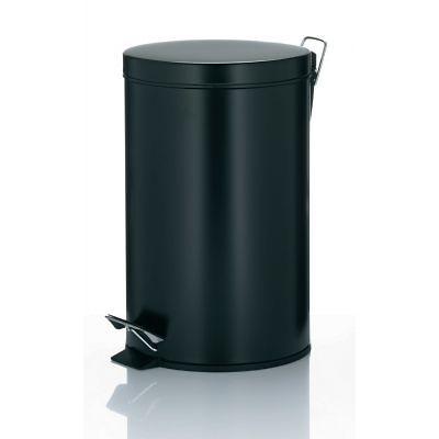 Kela - Kilian kosz na śmieci z pedałem, czarny