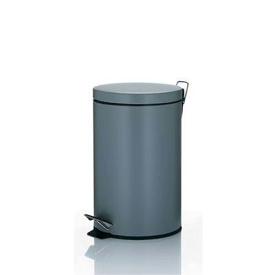 Kela - Leandro kosz na śmieci z pedałem, szary