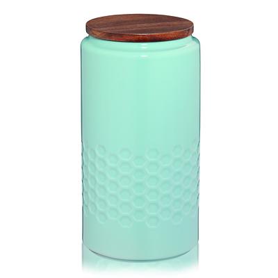 Kela - Mellis  ceramiczny pojemnik, niebieski