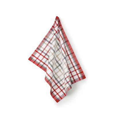 Kela - Tabea Karo  ściereczka kuchenna, kratka biała