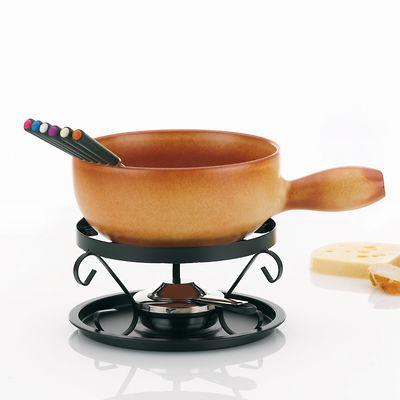 Kela - Tessin zestaw do fondue serowego