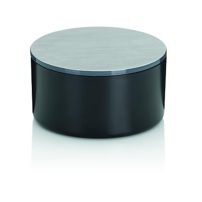 Kela - Tilda  pojemnik kosmetyczny z lusterkiem, czarny