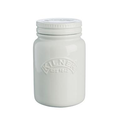 Kilner - Ceramic Push Top Słoik ceramiczny, brudna biel