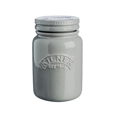 Kilner- Ceramic Push Top Słoik ceramiczny szary