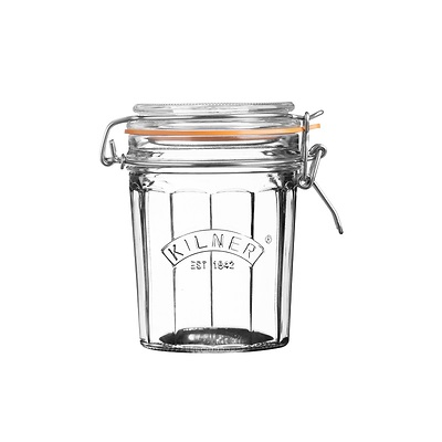 Kilner - Facetted Clip Top Jar Słoik