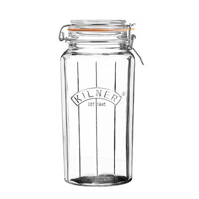 Kilner - Facetted Clip Top Jars Słoik