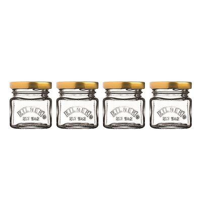 Kilner - Mini Jars Zestaw 4 minisłoiczków