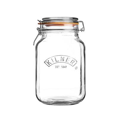 Kilner - Square Clip Top Jar Słoik