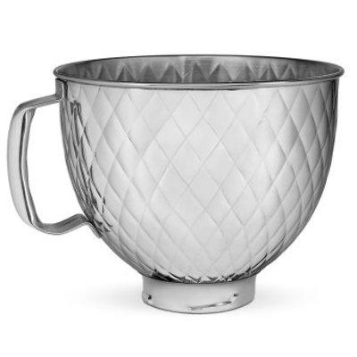 KitchenAid - Ozdobna dzieża stalowa, pikowana