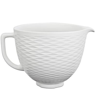 KitchenAid - Unikalna dzieża ceramiczna Biała 3D