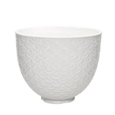 KitchenAid - Unikalna dzieża ceramiczna Mermaid Lace White