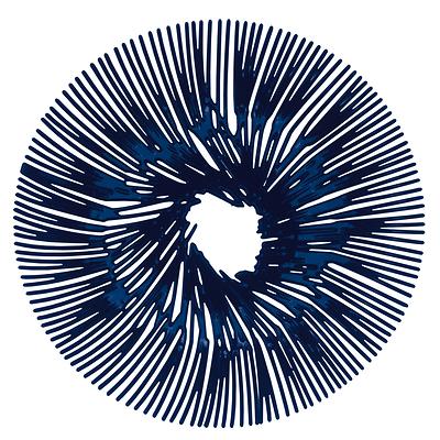 Koziol -  Anemone Patera niebieska