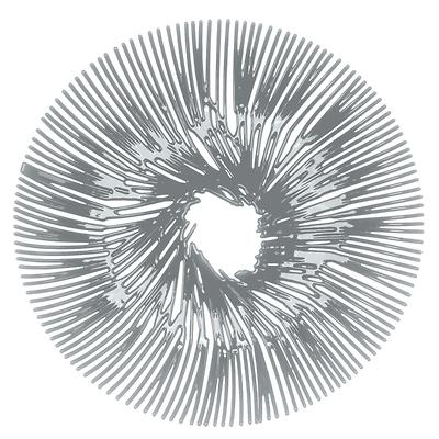 Koziol -  Anemone Patera szara
