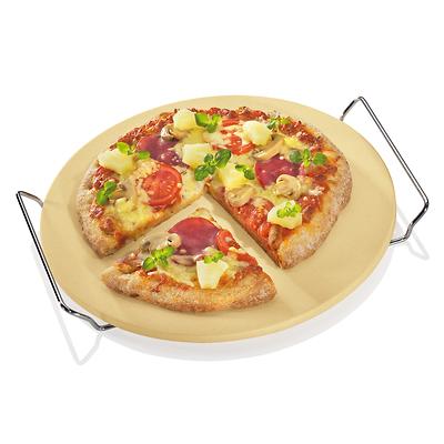 Küchenprofi -kamień do pieczenia pizzy, na stelażu