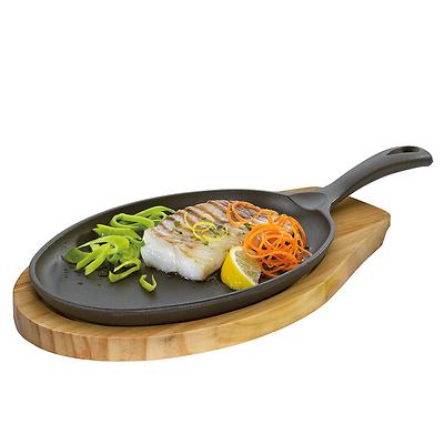Küchenprofi - mini patelnia do serwowania z podstawką