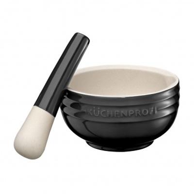 Küchenprofi - moździerz ceramiczny, czarny