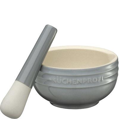 Küchenprofi - moździerz ceramiczny, szary