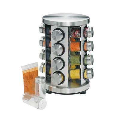 Küchenprofi - obrotowy stojak na 16 przypraw