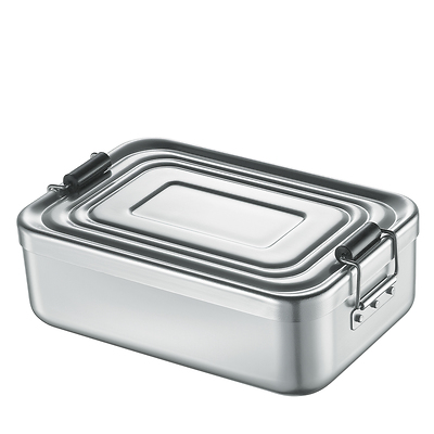 Küchenprofi - pojemnik na lunch, srebrny