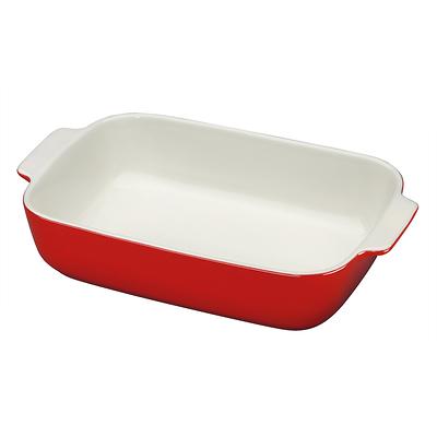 Küchenprofi - Provence ceramiczna brytfanna, czerwona