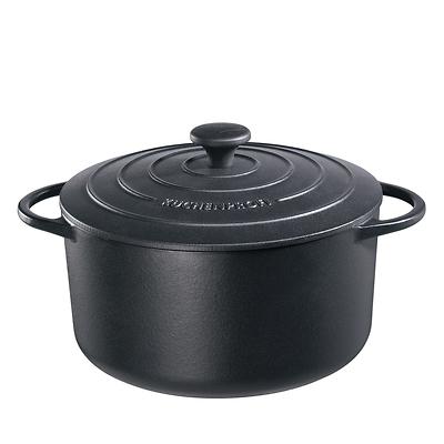 Küchenprofi - Provence garnek do zapiekania, czarny