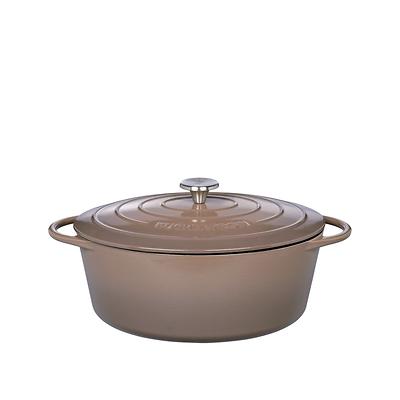 Küchenprofi - Provence  garnek do zapiekania, szaro-brązowy