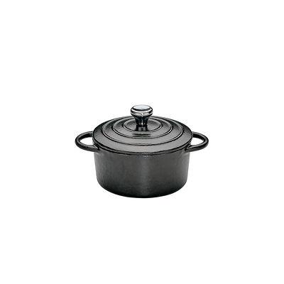 Küchenprofi - Provence mały garnek do zapiekania, czarny