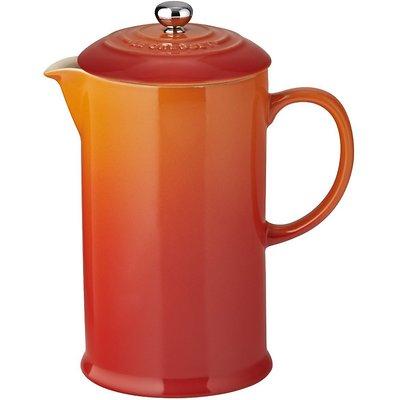 Le Creuset - Zaparzacz do kawy ze stalowym tłokiem,  płomienny